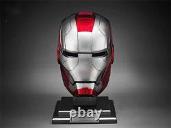 1/1 Iron Man mk5 Helmet Voice-controlled Deformed Wearable Halloween Mask Prop