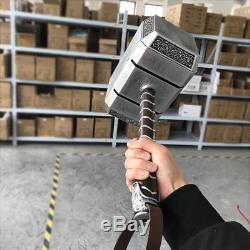 11 Full Solid Avengers Thor Hammer Resin Base Halloween Cosplay Props US Seller