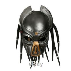 11 Predator Mask Antenna Helmet Cosplay Costume Prop Replica Halloween Hair New