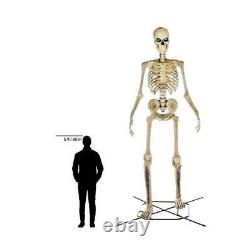 12ft Halloween Prop Decor Life Size Animated Scary Ghostly Skeleton Yard/Outdoor