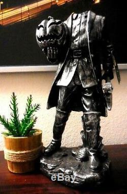 16 Sleepy Hollow Headless Horseman Ichabod Crane Statue Prop Decor Halloween