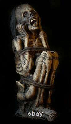 2020 Halloween Bound Prisoner Corpse Haunted House Horror Prop