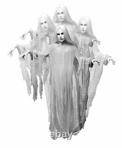 5.4' ANIMATED RISING GHOST WOMAN Halloween Prop HAUNTED HOUSE