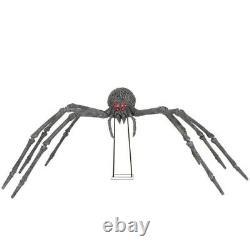 5'5 Gargantuan Spider Home Depot Halloween Home Depot Prop Blow Mold LQQK
