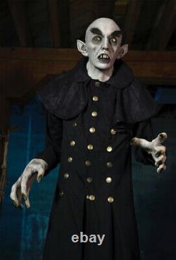6.3 FT Nosferatu LEGEND VAMPIRE Jordu Schell Halloween Prop DISTORTION UNLIMITED