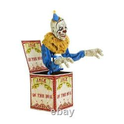 6 Ft. Animated Led Jack-in-the-box Pennywise Halloween Clown
