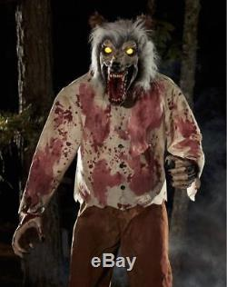 6 Ft Werewolf Limb Ripper Animatronic Animated Halloween Decoration Prop NEW