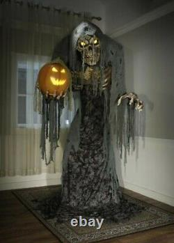 7' ANIMATED JACK STALKER Halloween Prop HAUNTED HOUSE SCARY NEW 2021 PROP