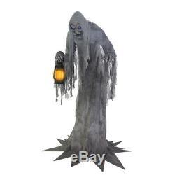 7 Ft WAILING PHANTOM Animated Halloween Prop DIGITAL EYES