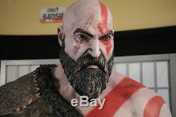 74 God of War Life-Size Foam Figure Statue Kratos Cratos w Axe 2017 NECA