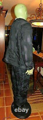 ANIMATED 6 Foot LIFESIZE FRANKENSTEIN PARTY MONSTER HALLOWEEN PROP WITH BOX