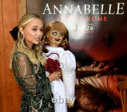 ANNABELLE DOLL SAMARA LEE & MADISON ISEMAN SIGNED Movie Prop DOLL HALLOWEEN OOAK