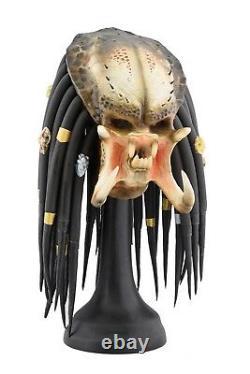 AVP Latex mask Cosplay Classic Predator Halloween replica Wearable prop