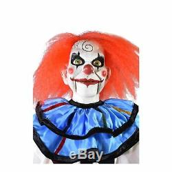 Adult Mary Shaw Dead Silence Scary Clown Halloween Home Decoration Prop Puppet