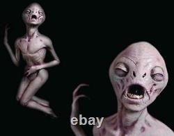 Alien Death Prop UFO Area 51 Roswell Life Size Dead Haunted House Halloween ET