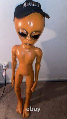 Alien Props Foam Filled Prop Life Size Scary Area 51 Halloween Decorations Party