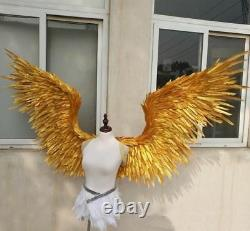 Angel Devil Feather Wings For Cosplay Halloween Photography Shooting Props Decor