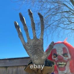 Animated 6ft Life-Size Big Top Clown NEW SVI Halloween 2020