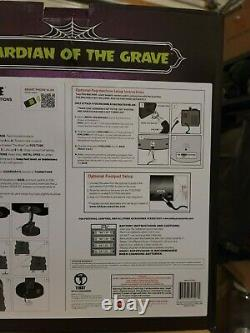 Animated Halloween Guardian of the Grave Prop Animatronic Reaper SEE VIDEO! RARE
