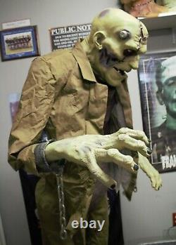 Animated Life Size Frankenstein Prop