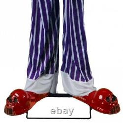 Animated Straight-Jacket Clown Prop Decoration Adult Halloween