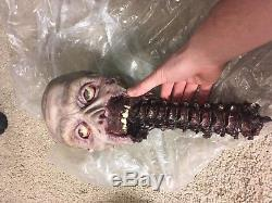 Animatronic R/C Severed Zombie Head amazing detail with remote control
