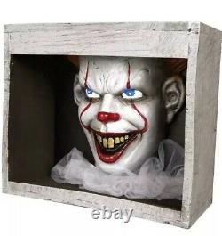 Animatronics Halloween Prop Decor Talking Pennywise In The Sewer Clown IT Movie