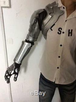 Anime Fullmetal Alchemist Edward Elric Full Arm Cosplay Prop Halloween EVA PVC