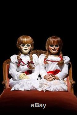 Annabelle Horror Movie Prop Haunted Puppet Doll The Conjuring Ooak 2 3 Halloween