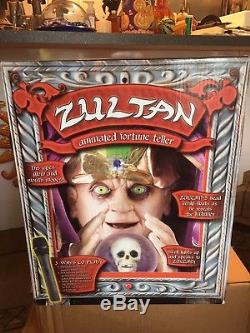 BRAND NEWZultan Gemmy Animated Talking Fortune Teller JUST OPENED FOR PICTURES
