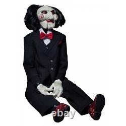 Billy The Puppet Prop Saw Jigsaw Creepy Dummy Scary Halloween