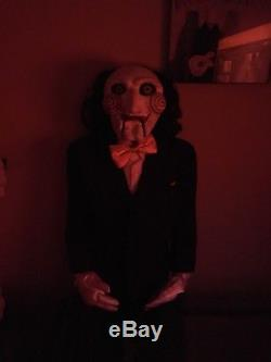 Billy the Puppet authentic lifesize Jigsaw Halloween puppet from Saw