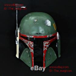 Boba Fett Helmet Mask Armor Star Wars Prop Gift Halloween Costume Cosplay M204
