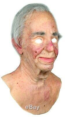 Boris Silicone Mask Old Man Halloween Hand Made Realistic High Quality