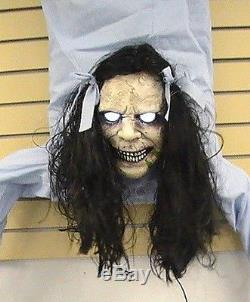 Brand New Animated Possessed Wall Hanger Halloween Prop