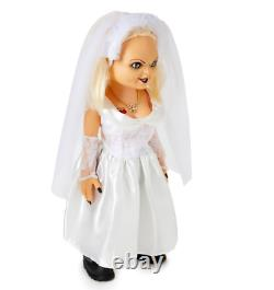 Bride of Chucky 24.5 Tiffany Doll Halloween Collectible Toy Prop Decoration
