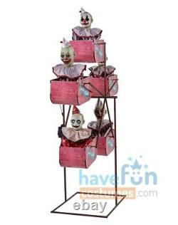 Clown Ferris Wheel Animated Prop Clowns Carnival Circus Fair Halloween Spirit