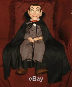 Count Dracula Vampire Slappy Ventriloquist doll puppet creepy dummy prop OOAK