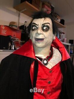 Count Vigor Life Size Gemmy Spirit Halloween Morbid Rare Htf Working 60%