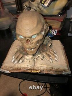 Crypt Keeper Halloween Prop Latex Head Bust Spirit Gemmy Rare Htf Morbid Movie