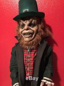 Custom Leprechaun movie Life-Size prop. Detailed and creepy