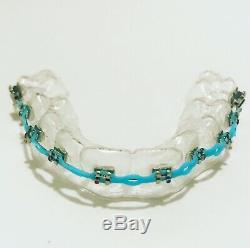 Custom Made Fake Braces Prop Retainer Brackets Orthodontic Costume Halloween