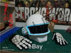 Daft Punk Helmet Thomas LED Helmet Mask Gloves EVA Cosplay Props Halloween Props