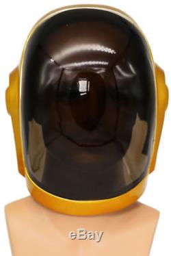 Daft Punk Rock Helmet Cosplay Costume Props Mask Jazz Music Party Halloween New