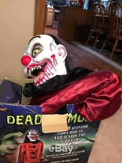 Dead Humor Spriit Halloween Animatronic Teeky Toys Gemmy Rare Htf Prop