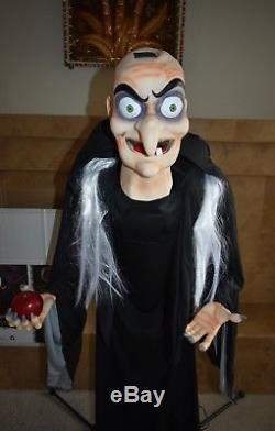 Disney Villains Life Size Villain Evil Queen Old Hag Halloween Prop Figure Doll