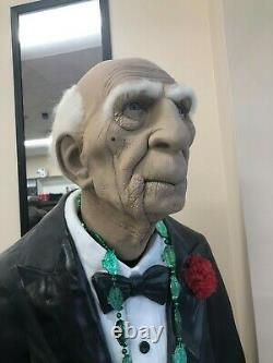 Dobson The Butler Animated Life Size Prop Statue Decor