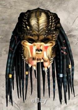 Elder Predator 2 Latex Rubber Replica Mask Wearable Alien AVP Halloween Cosplay