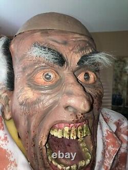 Evil Scientist Rare Htf Gemmy Halloween Spirit Halloween Morbid Creepy