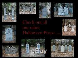 Evil Soul Studios Draculae Gateway Cemetery Columns Halloween Prop Yard